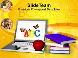 Modern Education And Online Learning Food Powerpoint Templates Ppt Themes And Graphics 0113