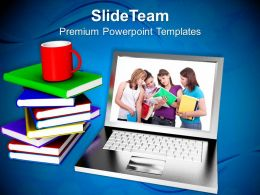 Modern Education And Online Learning Internet Powerpoint Templates Ppt Themes And Graphics