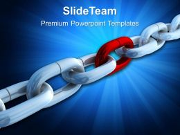 modern_marketing_concepts_templates_strong_link_chain_business_image_ppt_slide_powerpoint_Slide01