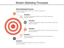 Modern Marketing Processes Ppt Powerpoint Presentation Infographics Ideas Cpb