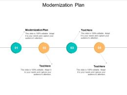 Modernization Plan Ppt Powerpoint Presentation Diagram Graph Charts Cpb