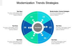 Modernization Trends Strategies Ppt Powerpoint Presentation Show Graphics Template Cpb