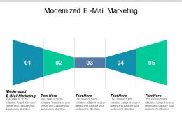 Modernized E Mail Marketing Ppt Powerpoint Presentation Model Vector Cpb