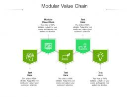 Modular Value Chain Ppt Powerpoint Presentation Infographic Template Examples Cpb