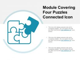 Module Covering Four Puzzles Connected Icon