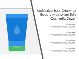 Moisturizer Icon Showing Beauty Moisturizer Skin Cosmetic Dozer