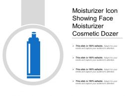 Moisturizer Icon Showing Face Moisturizer Cosmetic Dozer