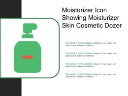 Moisturizer Icon Showing Moisturizer Skin Cosmetic Dozer