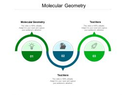Molecular Geometry Ppt Powerpoint Presentation Portfolio Deck Cpb