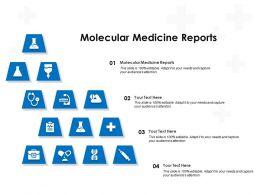 Molecular Medicine Reports Ppt Powerpoint Presentation Ideas Graphics Download