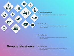 Molecular Microbiology Ppt Powerpoint Presentation Show Introduction