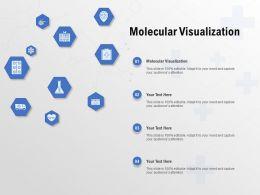 Molecular Visualization Ppt Powerpoint Presentation Ideas Demonstration