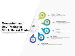 Momentum And Day Trading In Stock Market Trade