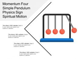 Momentum Four Simple Pendulum Physics Sign Spiritual Motion