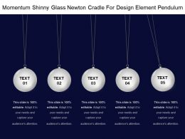 momentum_shinny_glass_newton_cradle_for_design_element_pendulum_Slide01