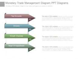 Monetary Trade Management Diagram Ppt Diagrams
