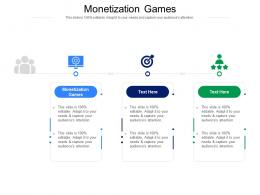 Monetization Games Ppt Powerpoint Presentation Gallery Guidelines Cpb