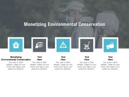 Monetizing Environmental Conservation Ppt Powerpoint Presentation Topics Cpb
