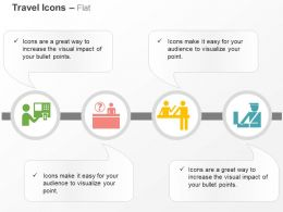 money_atm_travel_desk_custom_checking_ppt_icons_graphics_Slide01