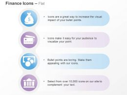 Money Bag Bank Financial Investment Ppt Icons Graphics
