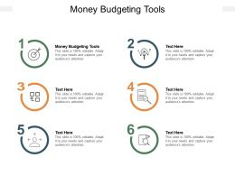Money Budgeting Tools Ppt Powerpoint Presentation Gallery Outfit Cpb