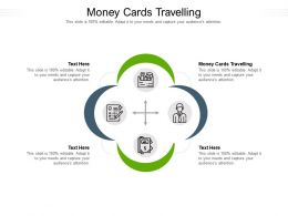Money Cards Travelling Ppt Powerpoint Presentation Infographic Template Deck Cpb