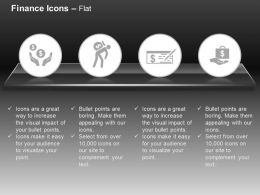Money Check Money Courier Financial Support Business Offer Ppt Icons Graphics