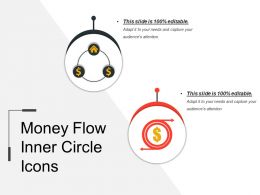 Money Flow Inner Circle Icons