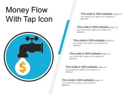 Money Flow With Tap Icon