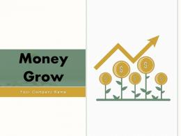 Money Grow Investment Business Representing Financial Arrow Dollar