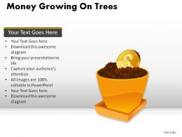 Money Growing On Trees Powerpoint Presentation Slides