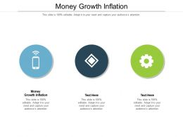 Money Growth Inflation Ppt Powerpoint Presentation Slides Example Cpb