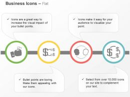 Money Hold Financial Process Communication Dollar Growth Ppt Icons Graphics