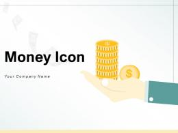 Money Icon Business Investment Planning Process Gear Circular Arrows