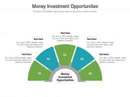 Money Investment Opportunities Ppt Powerpoint Presentation Infographic Template Influencers Cpb