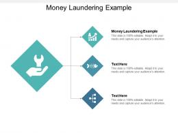 Money Laundering Example Ppt Powerpoint Presentation Infographics Outfit Cpb