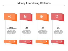 Money Laundering Statistics Ppt Powerpoint Presentation Show Template Cpb