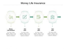 Money Life Insurance Ppt Powerpoint Presentation Ideas Gridlines Cpb