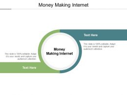Money Making Internet Ppt Powerpoint Presentation Outline Vector Cpb