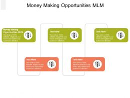 Money Making OpportunITies MLM Ppt Powerpoint Presentation File Inspiration Cpb