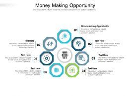 Money Making Opportunity Ppt Powerpoint Presentation Professional Portfolio Cpb
