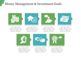 Money Management And Investment Goals Ppt Images Gallery