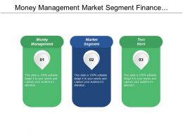Money Management Market Segment Finance Management Advertising Organization Cpb