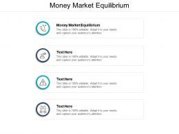 Money Market Equilibrium Ppt Powerpoint Presentation Show Graphics Download Cpb