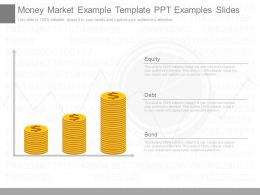 Money Market Example Template Ppt Examples Slides