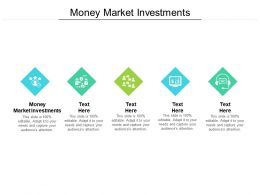 Money Market Investments Ppt Powerpoint Presentation Show Cpb