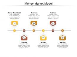 Money Market Model Ppt Powerpoint Presentation Inspiration Diagrams Cpb