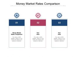 Money Market Rates Comparison Ppt Powerpoint Presentation Icon Introduction Cpb