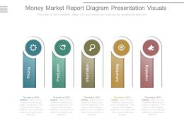 Money Market Report Diagram Presentation Visuals