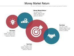Money Market Return Ppt Powerpoint Presentation Infographic Template Show Cpb